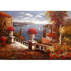 Mediterranean 8168 oil painting art gallery