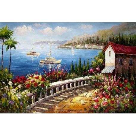 Mediterranean 8175 oil painting art gallery