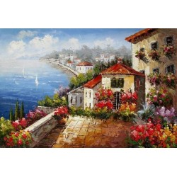 Mediterranean 8176 oil painting art gallery