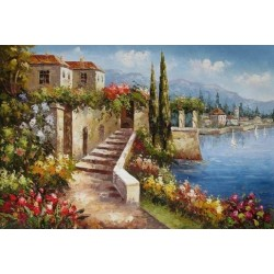 Mediterranean 8179 oil painting art gallery