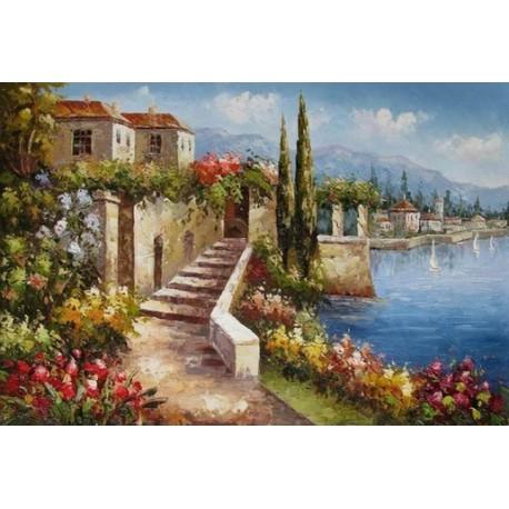 Mediterranean 8179 oil painting art gallery