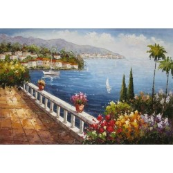 Mediterranean 8180 oil painting art gallery