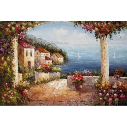Mediterranean 8181 oil painting art gallery