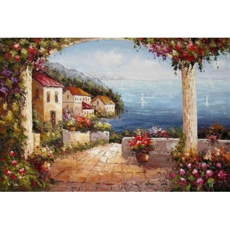 Mediterranean 8181 oil painting art gallery