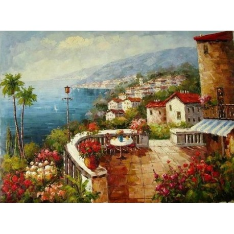Mediterranean 85784 oil painting art gallery