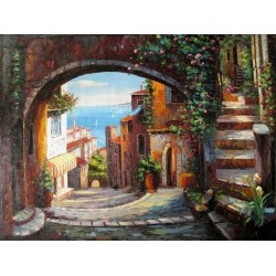 Mediterranean 85801 oil painting art gallery