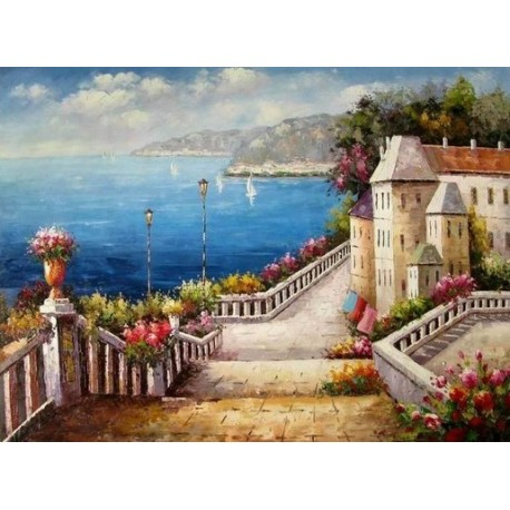 Mediterranean 85803 oil painting art gallery