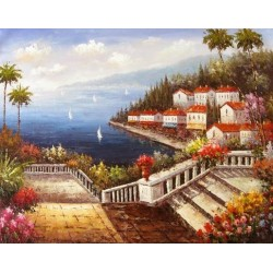 Mediterranean 87020 oil painting art gallery