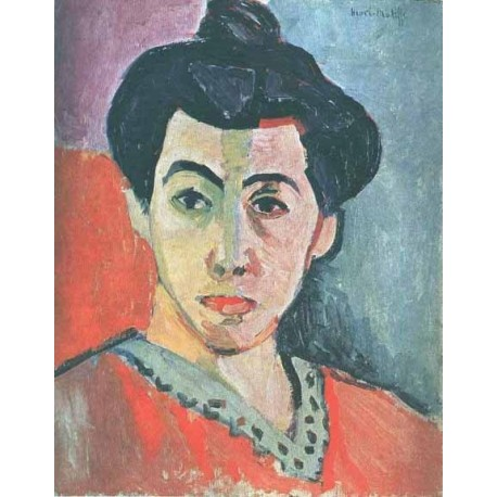 Green Stripe By Henri Matisse oil painting art gallery