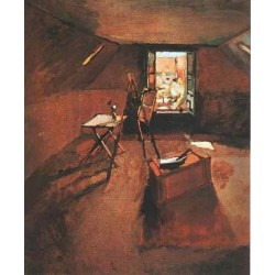 The Attic Studio By Henri Matisse oil painting art gallery