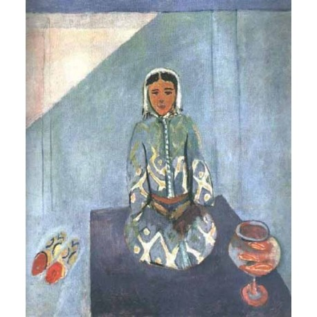 Zorah on the Terrace By Henri Matisse oil painting art gallery