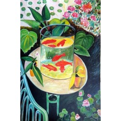 Gold Fish By Henri Matisse oil painting art gallery