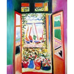 Open Window Collioure 1905 By Henri Matisse oil painting art gallery