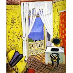 Interior with a Violin Case By Henri Matisse oil painting art gallery