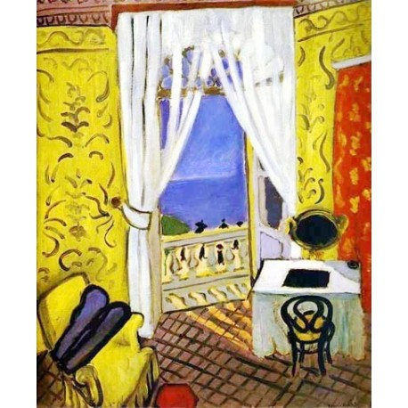 Quot Interior With A Violin Case Quot By Henri Matisse Oil Painting Reproductions