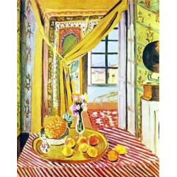Interior with Phonograph By Henri Matisse oil painting art gallery