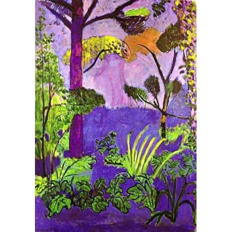 Morrocan landscape by henri matisse oil painting for Matisse fenetre