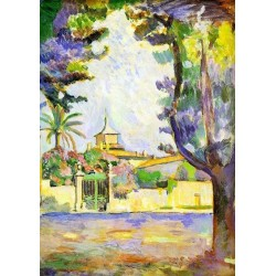 Place des Lices St. Tropez By Henri Matisse oil painting art gallery