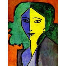 Portrait of Lydia Delectorskaya the Artist's Secretary By Henri Matisse oil painting art gallery