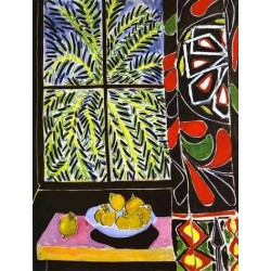 The Egyptian Curtain By Henri Matisse oil painting art gallery