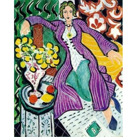 The Purple Coat By Henri Matisse oil painting art gallery