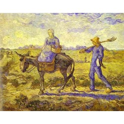 Morning Leaving for Work by Vincent Van Gogh