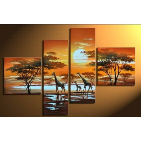 Africa III | Oil Painting Abstract art Gallery