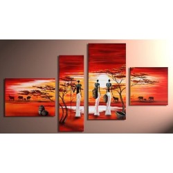Africa | Oil Painting Abstract art Gallery