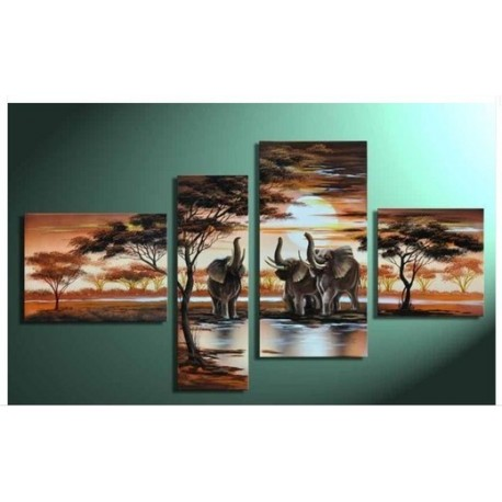 Africa IV | Oil Painting Abstract art Gallery