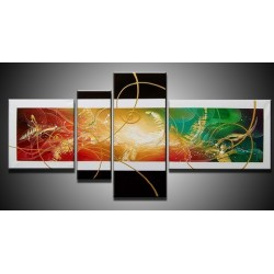 Black & White Abstract V | Oil Painting Abstract art Gallery