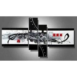 Black & White Abstract IV | Oil Painting Abstract art Gallery
