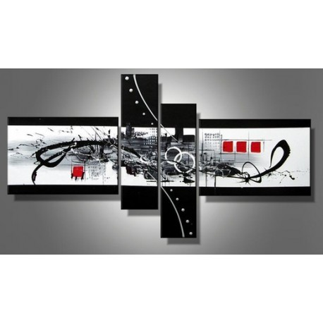 Art Gallery Paintings Black And White Black White Abstract iv