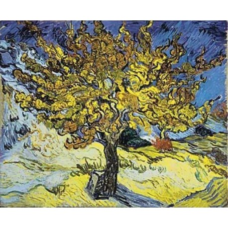 Mulberry Tree by Vincent Van Gogh
