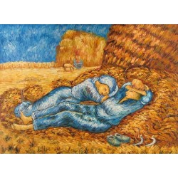 Noon Rest After Millet by Vincent Van Gogh - Art gallery oil painting reproductions