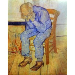 Old Man in Sorrow by Vincent Van Gogh - Art gallery oil painting reproductions
