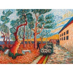 Olive Tree by Vincent Van Gogh - Art gallery oil painting reproductions
