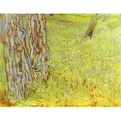 Park Conor with a Blooming Lawn by Vincent Van Gogh