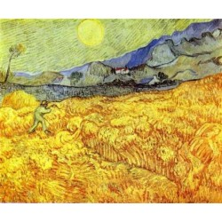 Reaper by Vincent Van Gogh - Art gallery oil painting reproductions