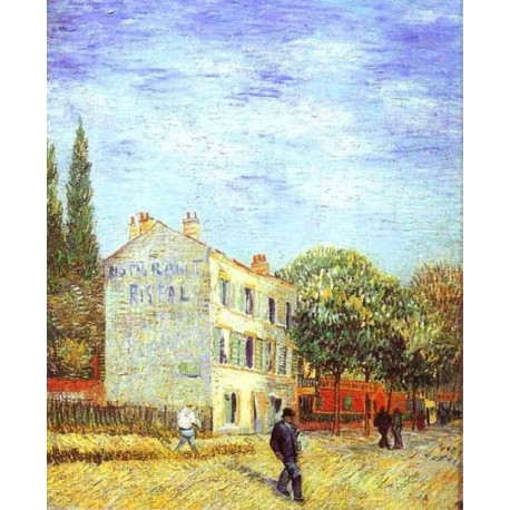 Restaurant Rispal by Vincent Van Gogh -Art gallery oil painting reproductions