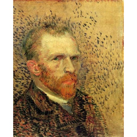 Self Portrait 2 by Vincent Van Gogh - Art gallery oil painting reproductions