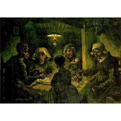 The Potato Eaters by Vincent Van Gogh - Art gallery oil painting reproductions