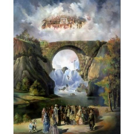 Steve Karro - European Wedding   Jewish Art Oil Painting Gallery