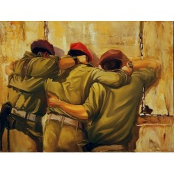 Steve Karro - Together | Jewish Art Oil Painting Gallery