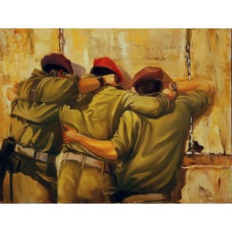 Steve Karro - Together | Jewish Art Oil Painting Gallery