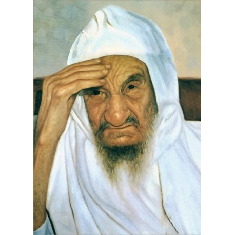 Baba Sali 3 | Jewish Art Oil Painting Gallery
