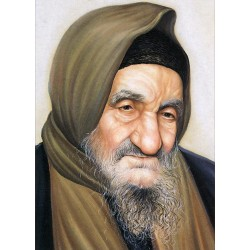 Baba Sali 1 | Jewish Art Oil Painting Gallery
