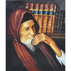 Baba Sali | Jewish Art Oil Painting Gallery