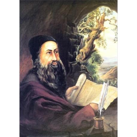 Rabi Shimon Bar Yochai 2 | Jewish Art Oil Painting Gallery