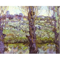 View of Arles by Vincent Van Gogh -Art gallery oil painting reproductions