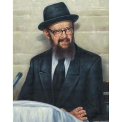 Rabbi Miller 3 | Jewish Art Oil Painting Gallery